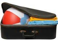 пляжный чемодан