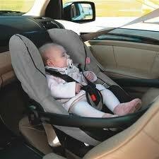 Перевозка грудных детей в автомобиле