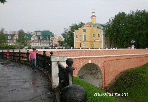 Кремль в Рязани_Глебовский_мост