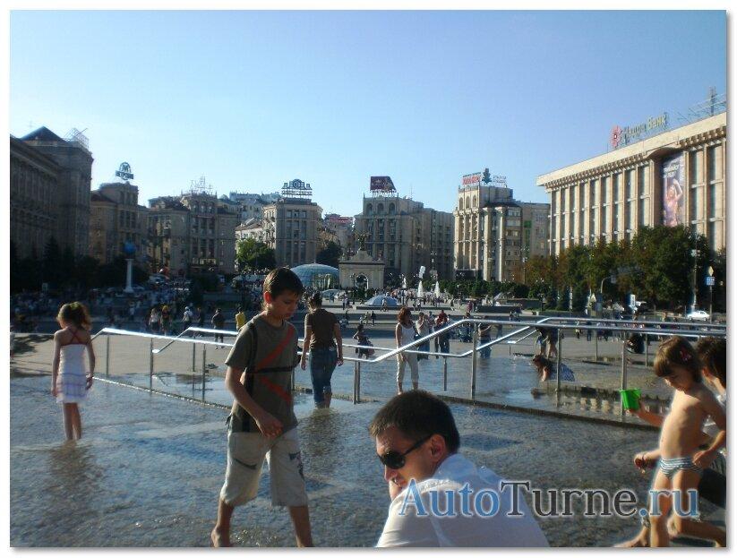 vid-na-maidan-ot -gostinicy-ukraina