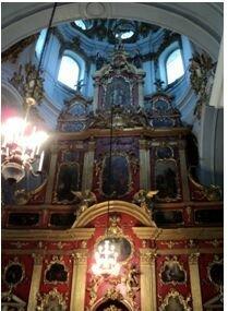 андреевск церковь внутри