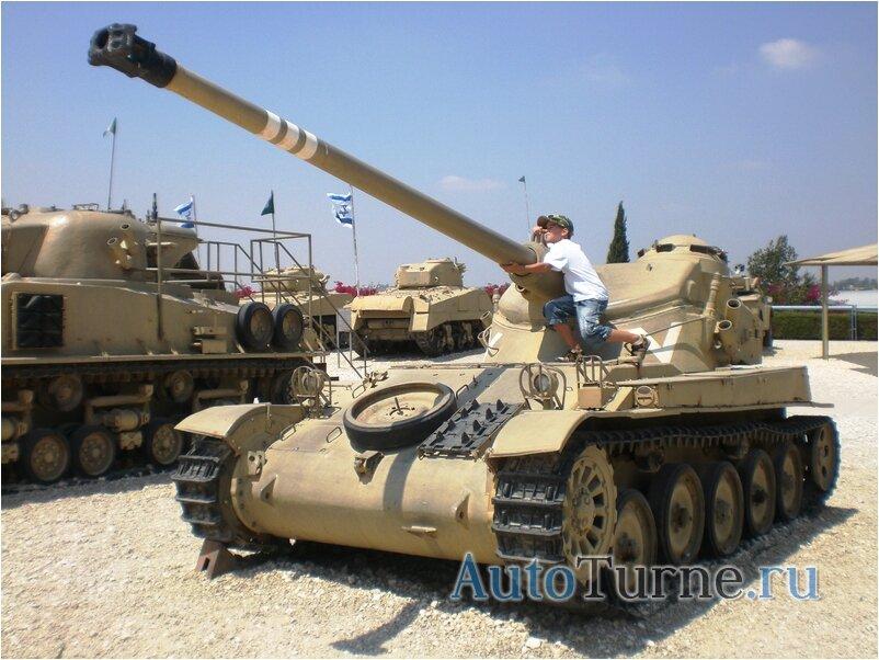 AM75 в танковом музее