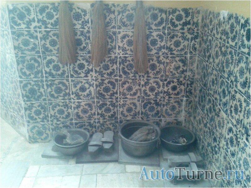 Хамам - принадлежности для бани.